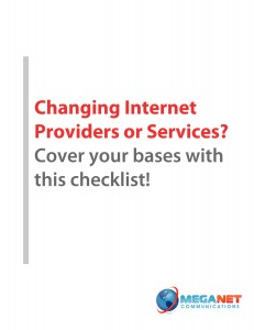 ISP Change Checklist