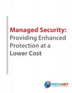 Managed Security eBook cover